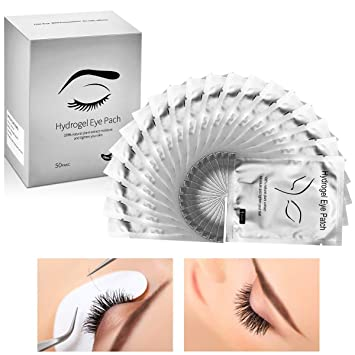 Amazon Com Under Eye Gel Pads For Makeup Tsmaddts 50 Pairs Comfy