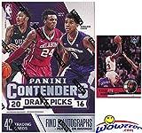 2016/2017 Panini Contenders Draft Picks Basketball Factory Sealed Retail Box with TWO(2) AUTOGRAPHS Plus Bonus VINTAGE Michael Jordan Chicago Bulls Card! Ben Simmons & Brandon Ingram RC Year Product!