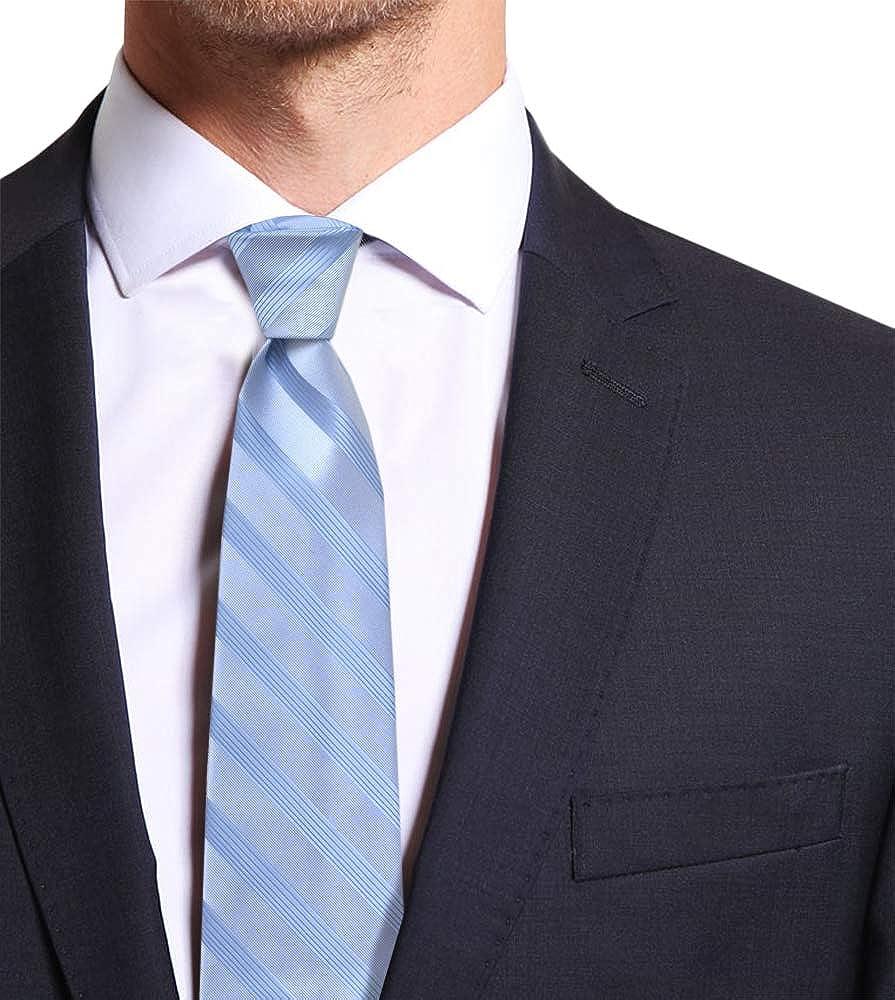 Remo Sartori - Corbata de seda regimental a rayas tono sobre tono ...