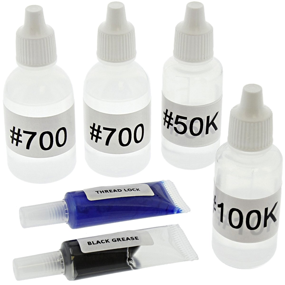 Tekno RC 1/10 MT410 SILICONE DIFFERENTIAL FLUID, SHOCK OIL, GREASE Different