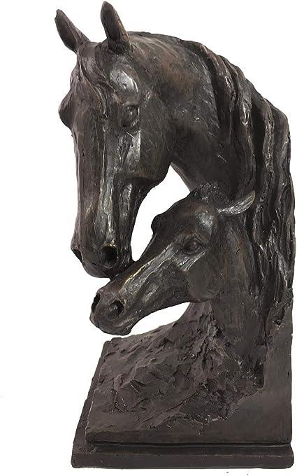 2 Buchst/ützen Buchst/änder Elefant Statue Figur Skulptur Eisen 15cm Antik-Stil