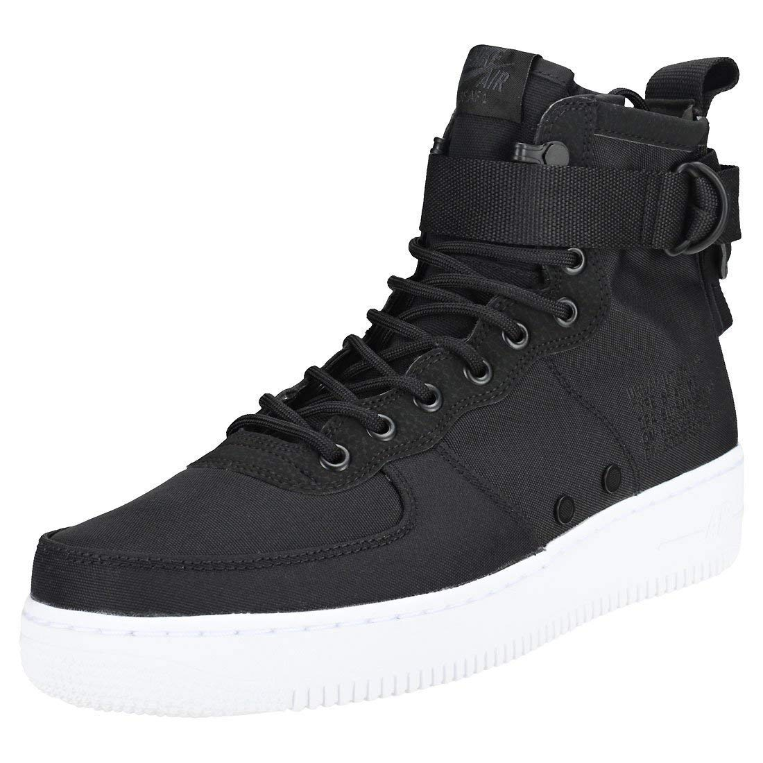 purchase cheap b6bf4 5e6cf Nike Men's SF AF1 Mid Air Force 1 (11.5 M US, Black/Anthracite-White)