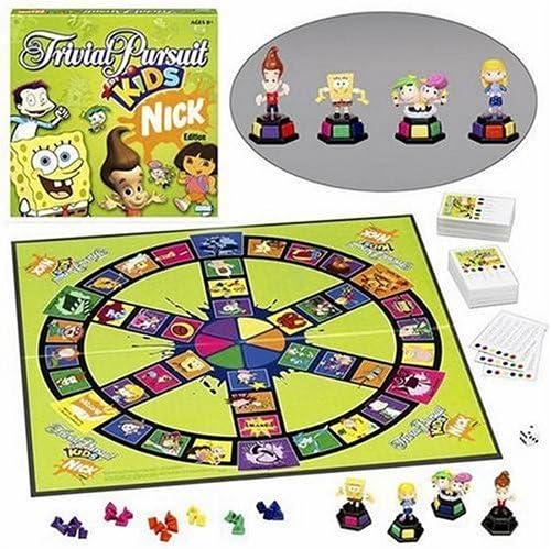 Trivial Pursuit For Kids Nickelodeon Edition: Amazon.es: Juguetes y juegos