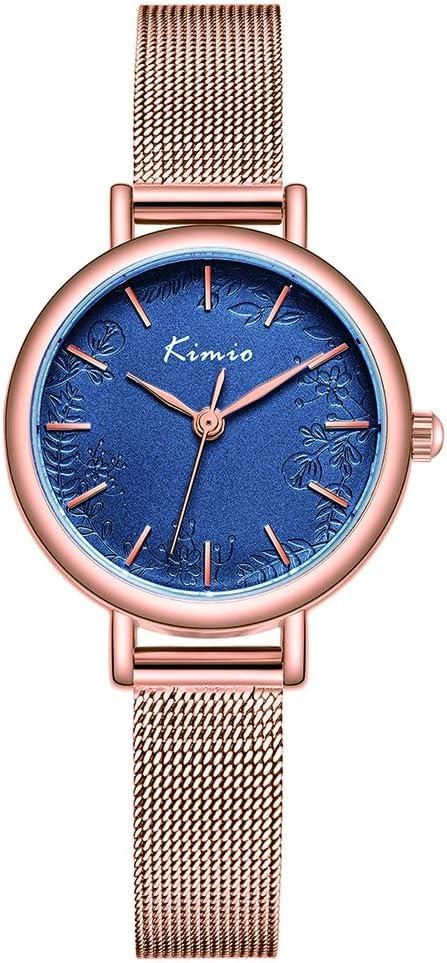 Reloj Pulsera Mujer Impermeable Simple Reloj Temperamento Generoso Ins Viento Atmósfera Señoras Reloj