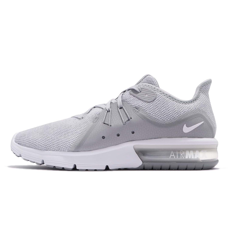 2018 Novità Nike Air Max Sequent 3 Uomo Running Wolf Grigio/Bianco/Pure Platinum