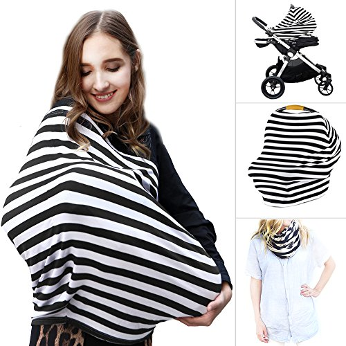 Multi Use Nursing Breastfeeding Cover Scarf | High Chair, Sh