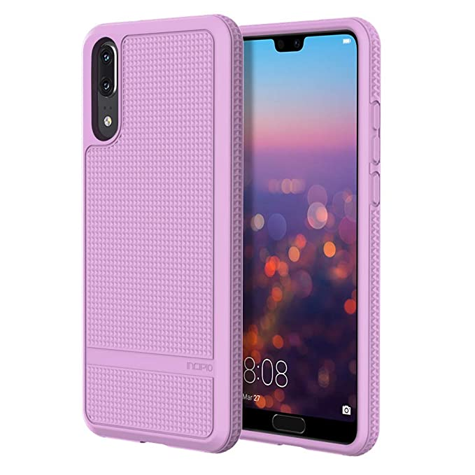 Incipio NGP [Advanced] Huawei P20 Case with Textured Back and Honeycombed  Interior for Huawei P20 - Lilac