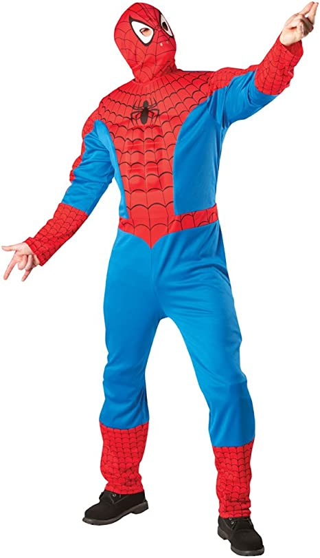 Disfraz de superhéroe Spiderman Marvel Spiderman disfraz Carnaval ...