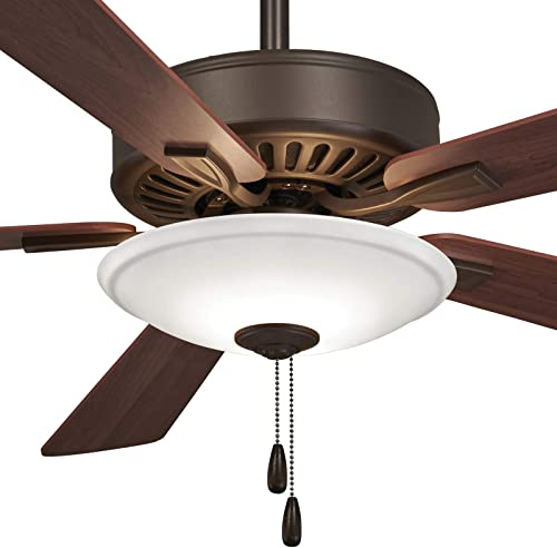 Minka-Aire F656L-ORB Contractor Uni-Pack 52 Inch LED Pull Chain Ceiling Fan