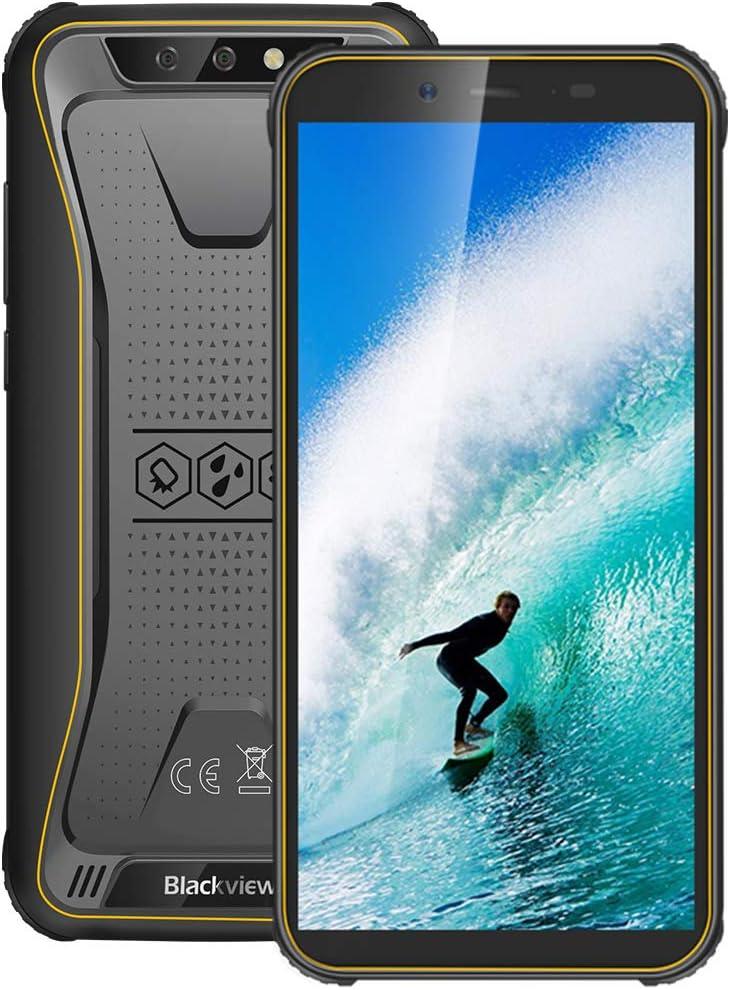 Móvil Resistente 4G, Blackview BV5500Plus Android 10.0 Smartphone(2020), 5.5
