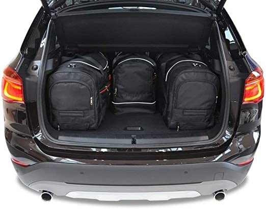 Kjust Dedizierte Kofferraumtaschen 4 Stk Set Kompatibel Mit Bmw X1 F48 2015 Auto