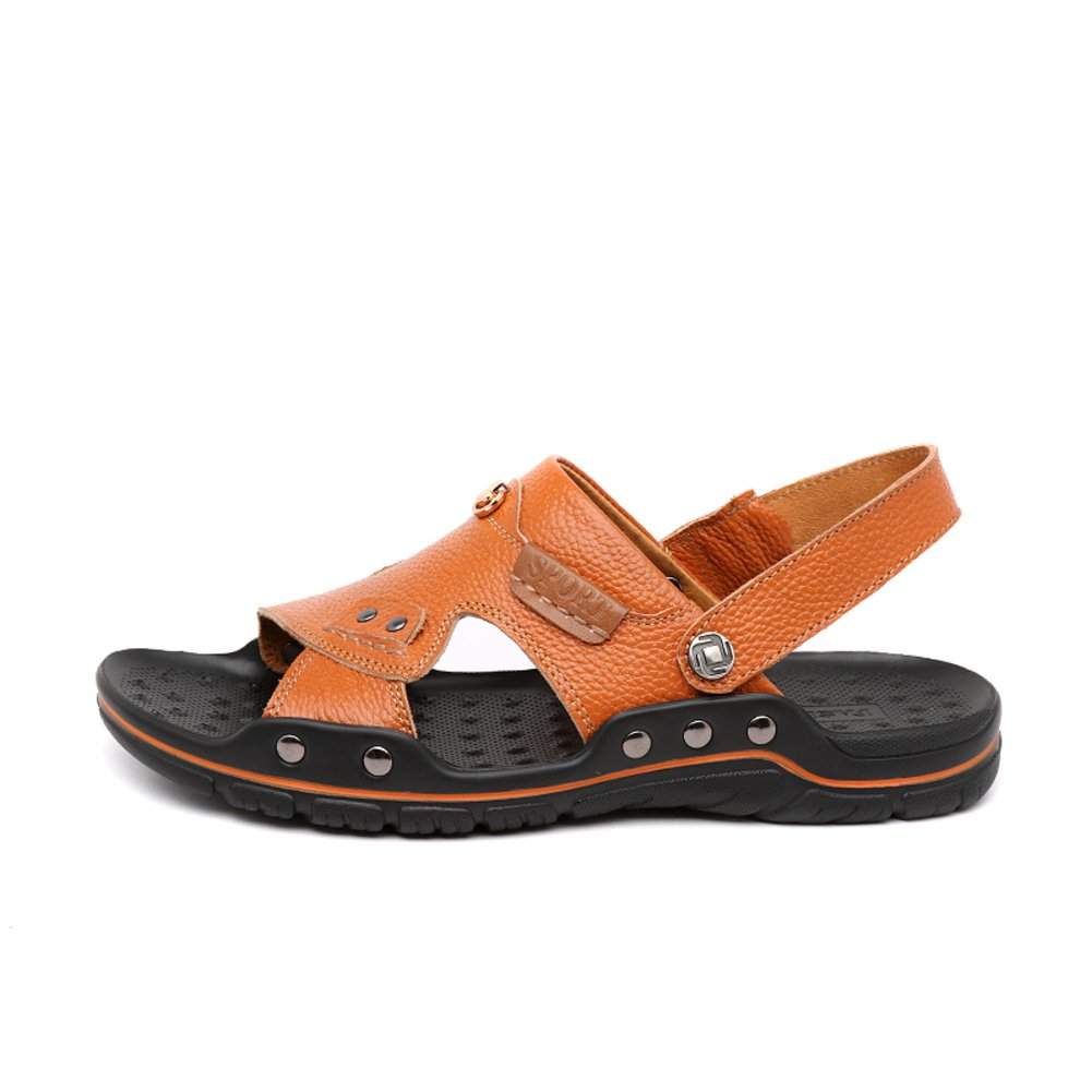 Verano Varonil casual/ sandalias transpirables suaves/Un zapato de doble efecto/ ojotas zapatos de los hombres Longitud del pie=25.3CM(10Inch)|A