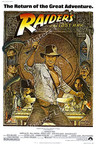 - Posters USA - Indiana Jones Raiders of the Lost Ark Movie Poster GLOSSY FINISH - MOV058 (24