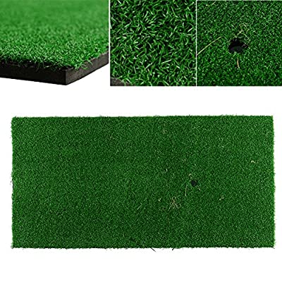 "Relefree® New Backyard Golf Mat 60x30cm 12""x24"" Residential Training Hitting Pad Practice Rubber Holder Grass Outdoor Indoor Free Shipping"