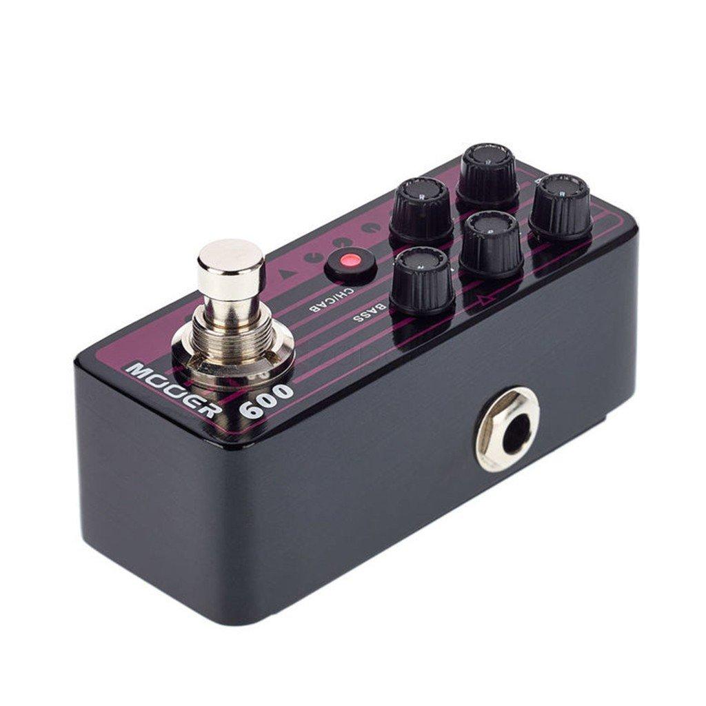 Mooer Micro Preamp 009 Blacknight w/Bonus RIS Pick (x1) 6943206792185