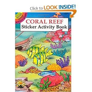 Coral Reef Sticker Activity Book (Dover Little Activity Books) Cathy Beylon