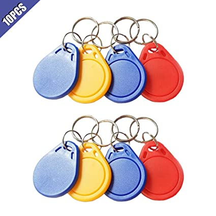Access Control 10pcs Rfid Tag Key Fobs Nfc Tag Rfid Card For Access Control System Rfid Key Tags Access Control Card With A Long Standing Reputation