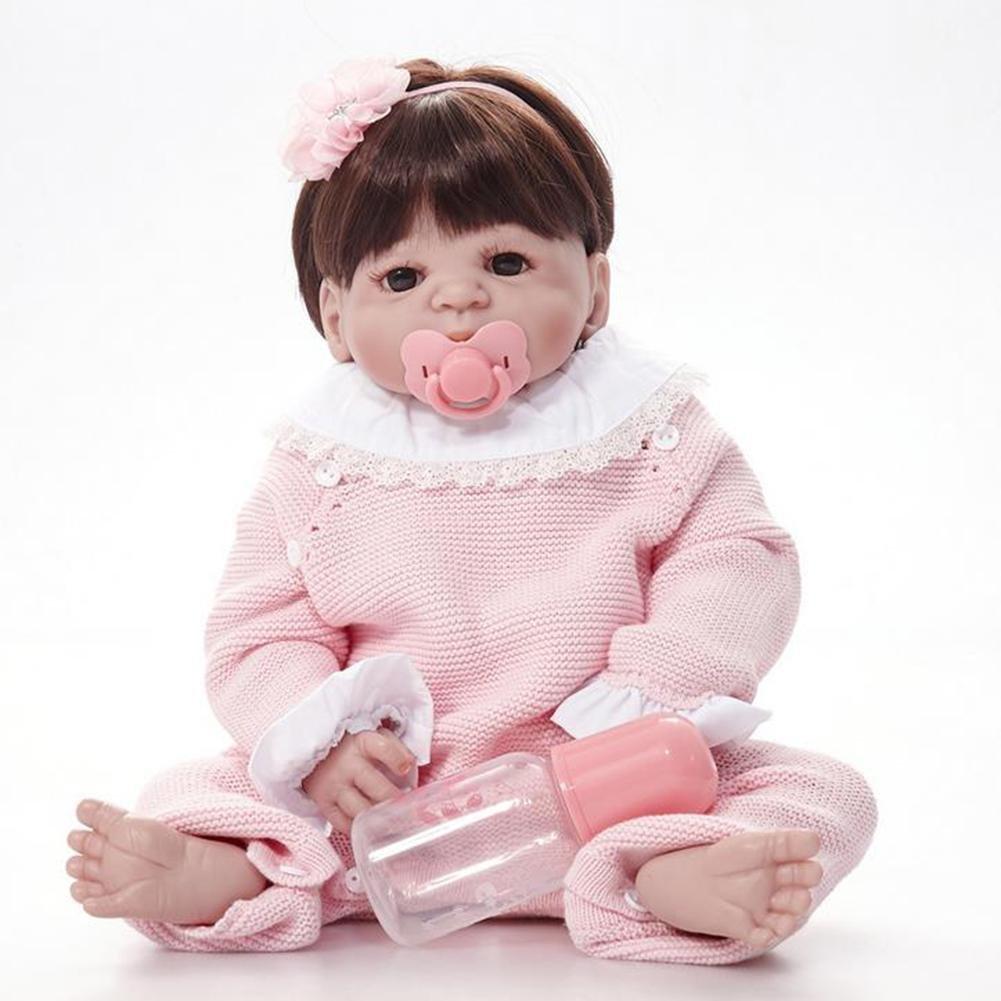 HAOBAO SimulacióN Bebé Reborn Vinilo Silicona PañO Cuerpo ...