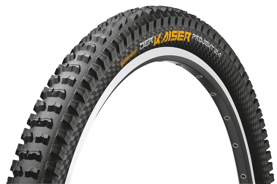 Continental Der Kaiser Projekt 2.4 Mountain Bicycle Tire (Black w/Black Chili 27.5 x 2.4) [並行輸入品] B077QG2TVD