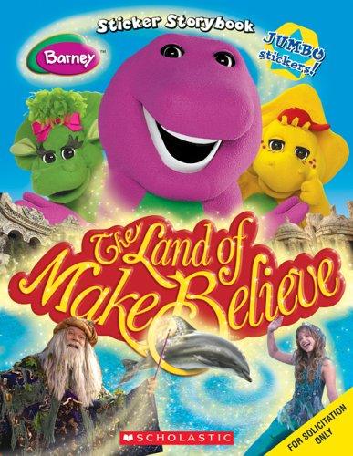 Barney: The Land Of Make Believe Sticker Storybook