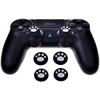 Skins4u silikon Thumb Sticks PlayStation 3 için 4 Xbox One Wii Xbox 360 Analog Stick Gamepad uçlar Caps Anti-kaymaz koruma kapakları Neon