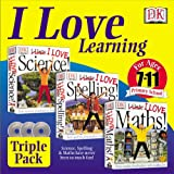 I Love Learning Pack (I Love Maths, I love Spelling, I Love Science)