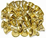 1''H Lot 30 Brass Bells Elephant Cow Camel Decor Bells Vintage Style Indian Craft