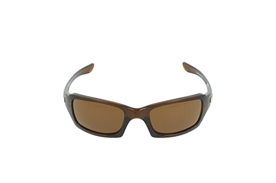 8ff4637286 Amazon.com  Oakley Fives Squared Sunglasses Matte Black   Flag   009238-33   Clothing