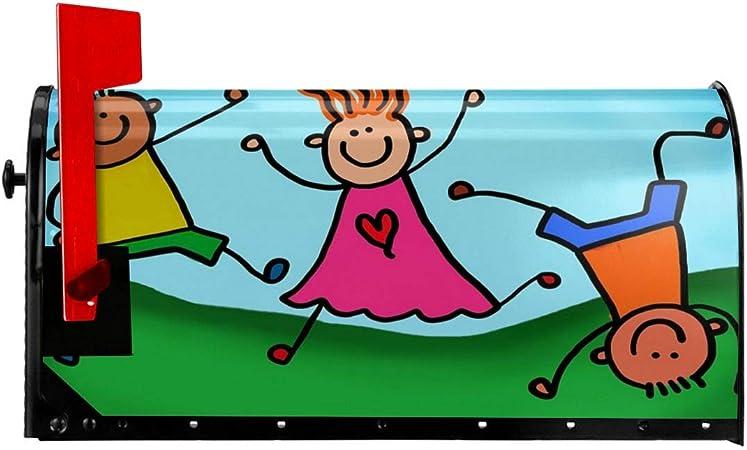 Funda magnética para buzón de correo, para niños, diseño de cartas, tamaño estándar: Amazon.es: Bricolaje y herramientas
