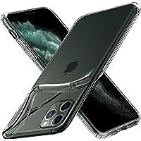 Spigen Coque iPhone 11 Pro Max [Liquid Crystal] Ultra Mince, Légère, Ajustement Parfait, Protection aux 4 Coins - [Air Cushion] Coque Compatible avec iPhone Pro Max (2019) - Transparente