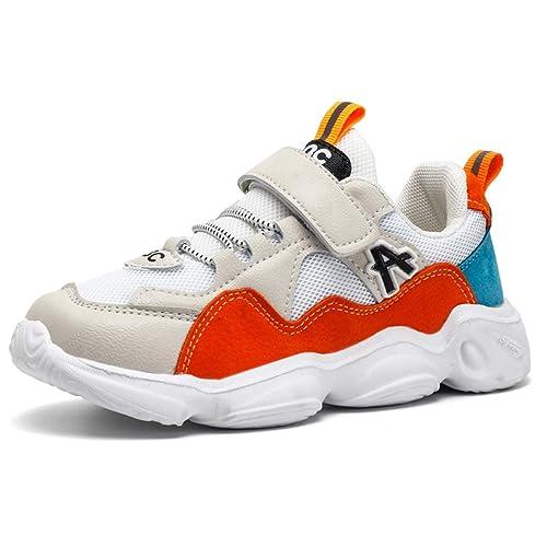 più colori 74b3d 4b0a6 Scarpe Sportive Bambino Sneakers Ragazzo Scarpe da Corsa Ragazze Scarpe da  Running per Bambine e Ragazze Scarpe Indoor Sport per Ragazze Sneakers per  ...