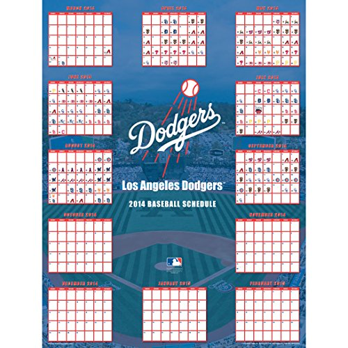 Turner Perfect Timing 2015 Los Angeles Dodgers Jumbo Sports Calendar