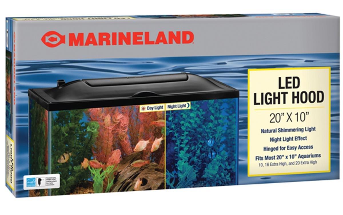 MarineLand LED Light Hood for Aquariums, Day & Night Light by MarineLand (Image #1)
