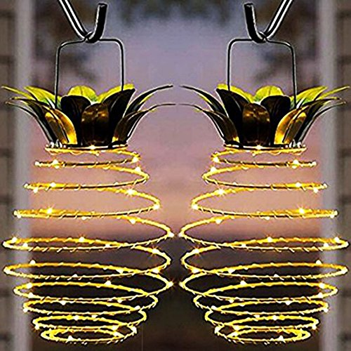 Outdoor Pineapple Lamp in US - 9