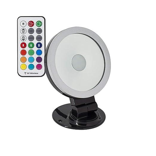 Foco Proyector LED Direccionable 360º RGB 20W Negro RGB ...
