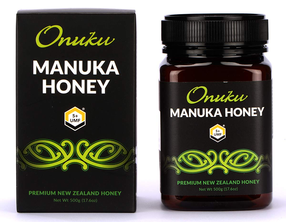 Onuku Manuka Honey Certified UMF 5+ (MGO 85+), New Zealand, 500g (17.64z)