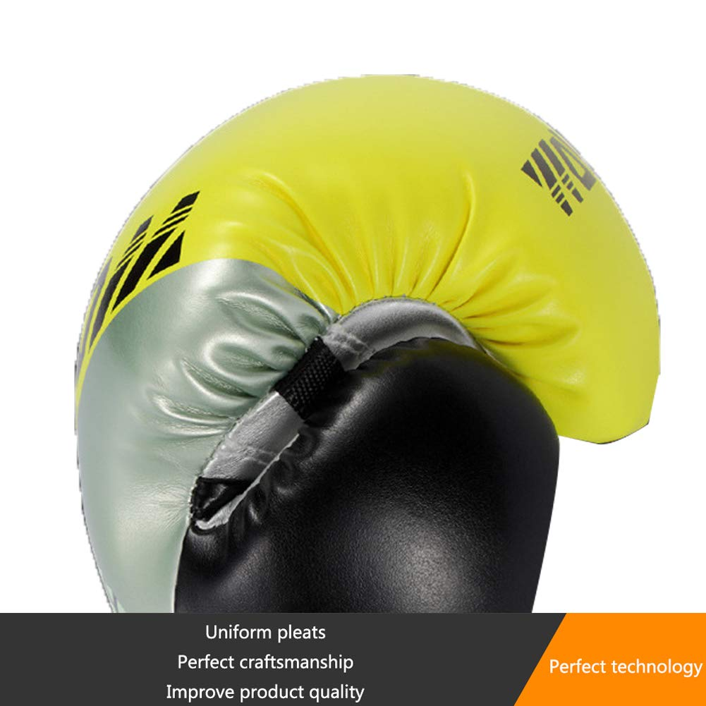 Boxhandschuhe Leder für Männer Frauen Optimaler Passen Sie Sie Sie das Handgelenk an Schlagdämpfung Respirant Verdickung Boxing Peak Boxing Gloves Ideal für Freefight Boxsack Sandsack Grappling Gloves B07QRQ5PM4 Boxhandschuhe Allgemeines Produ b753dc