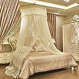 HUEHFUEGF Mosquito nets boho beach luxury mosquito net bed canopy, Court bed canopies-B Queen1