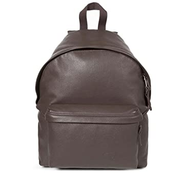 Eastpak Padded Pak'r Leather en cuir Brown Pebble marron khGFy15ri8