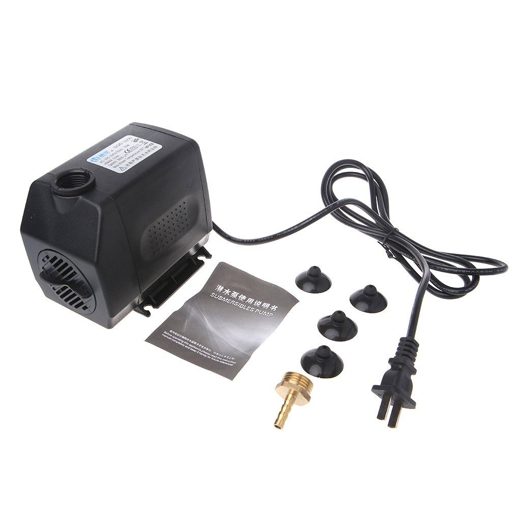Goodqueen 220-240V AC 75W Engraving Machine Cooling Water Pump Tool For CNC Router Motor for