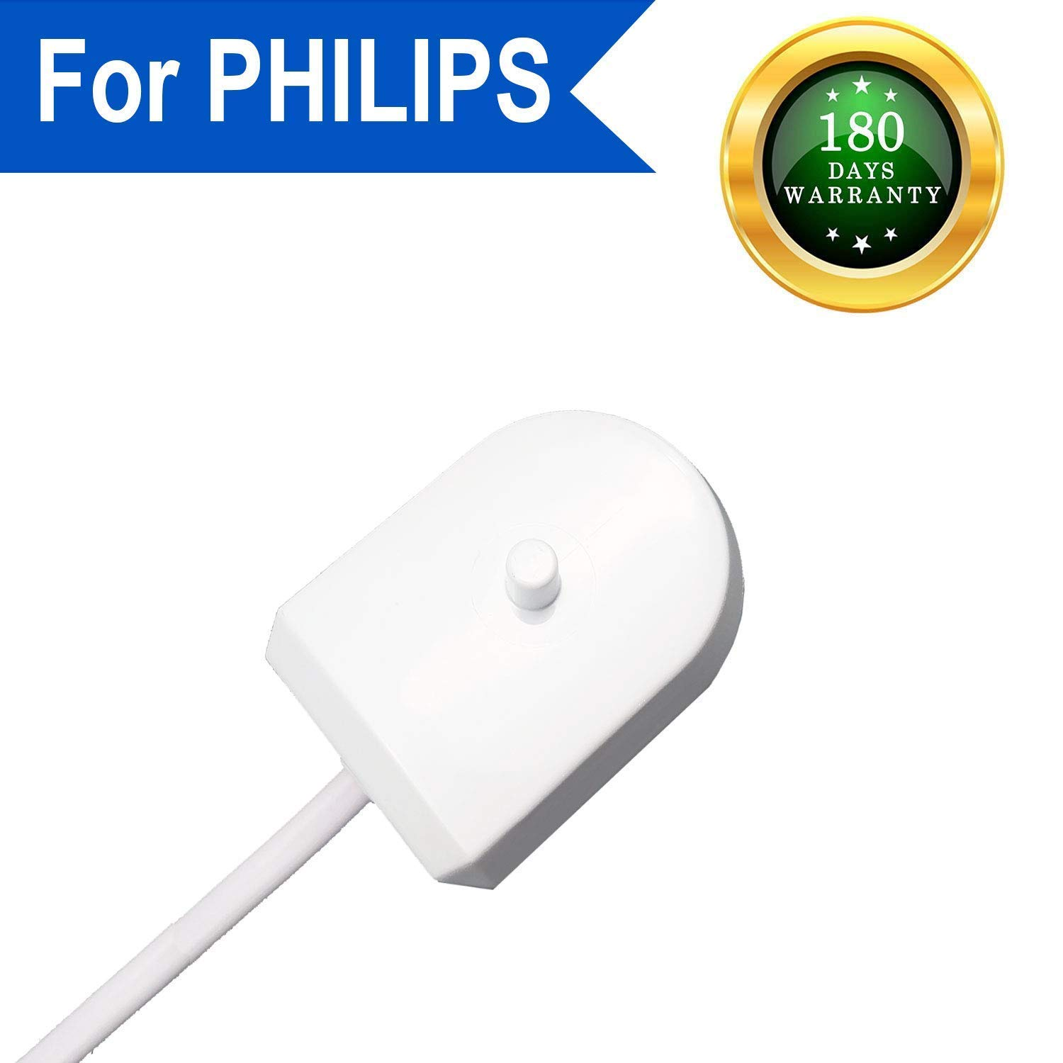 for Philips Toothbrush Sonicare Charger HX6100 Travel Charger Base Power Cord for Travel