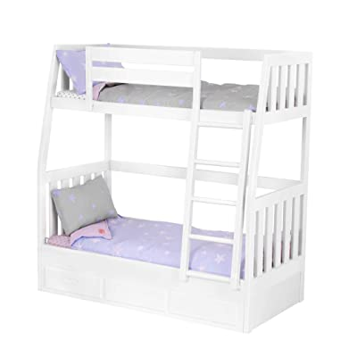 "Our Generation by Battat- Bunk Bed Set- Toy, Doll, Clothes & Accessories for 18"" Dolls- for Age 3 Years & Up: Toys & Games"