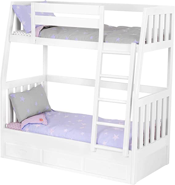 Amazon Com Our Generation By Battat Bunk Bed Set Toy Doll Clothes Accessories For 18 Dolls For Age 3 Years Up Toys Games