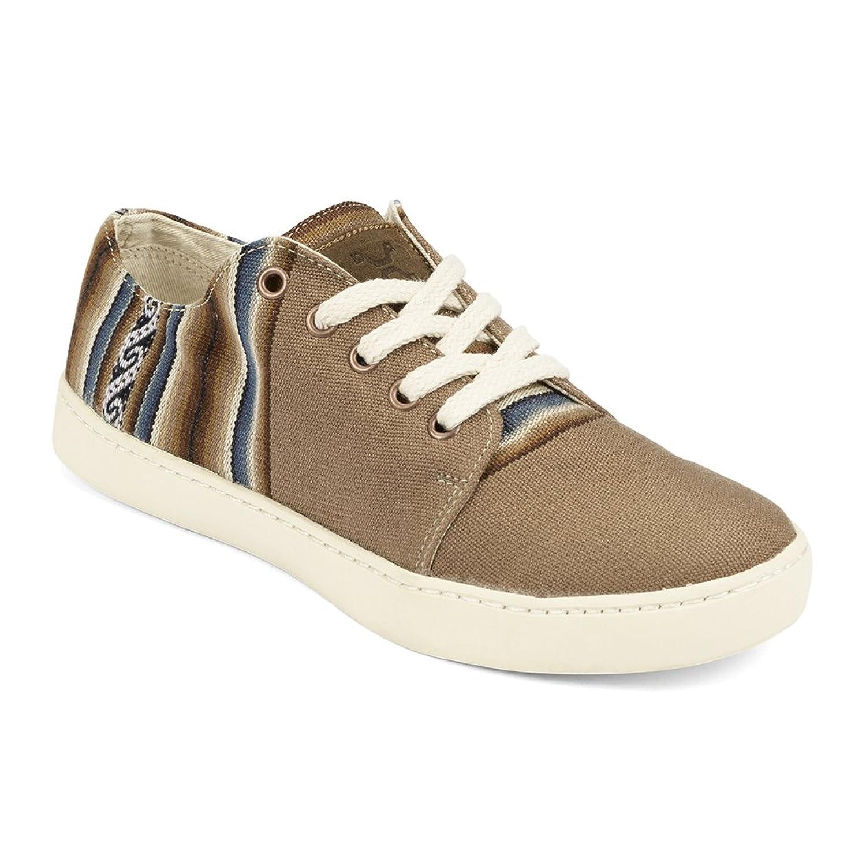 Perús-Ampato Bajo, Pour Hommes Et Femmes, Fabriquées À La Main, Artisanales Et Éthiques, Chaussures Sneakers À Motifs Traditionels Péruviens Beige 37