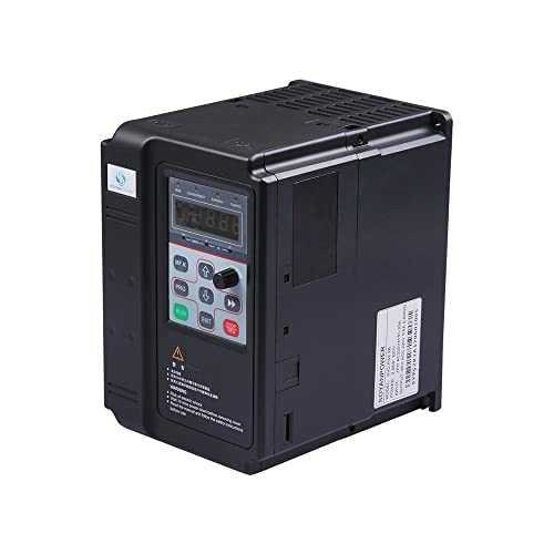LAPOND High Performance VFD Inverter VFD Drive 4KW 220V 5HP,Variable Frequency Drive for Motor Speed Control,SVD-PS Series