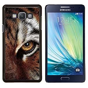 LECELL--Funda protectora / Cubierta / Piel For Samsung Galaxy A7 A7000 -- Ojo felino piel del tigre lindo gato grande Animal --