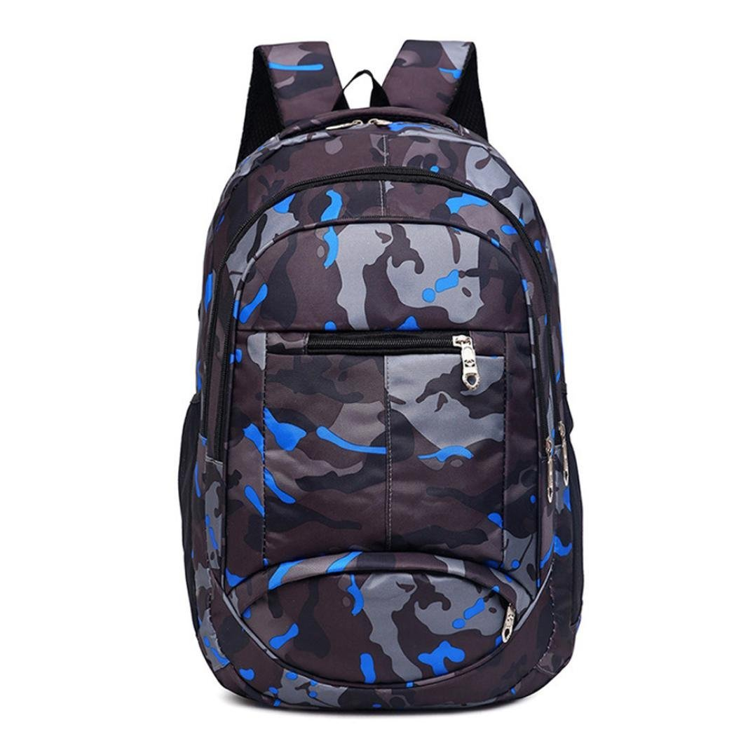 Amazon.com  💋 Mysky Fashion Teenage Girls Boys Students School Bags  Camouflage Printing Backpack Travel Backpack (Black)  Clothing 52213c30711ad