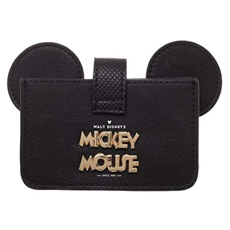 Amazon.com: Disney Mickey Mouse - Cartera de piel: Clothing