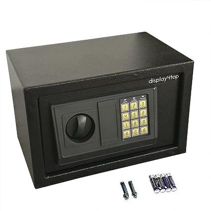 Display4top Caja fuerte electrónica 310x200x200: Amazon.es ...