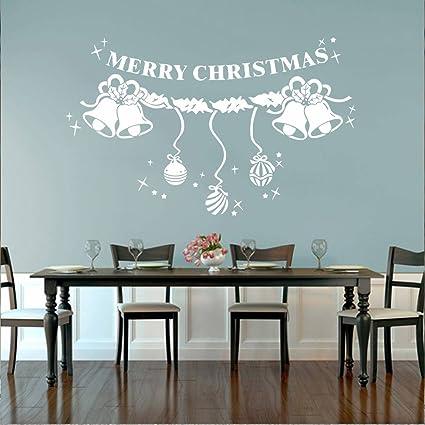 Venkaite Wall Sticker Windbell di Natale Adesivi Murales DIY ...